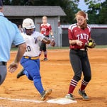 Action from the District 1-7A Softball tournament