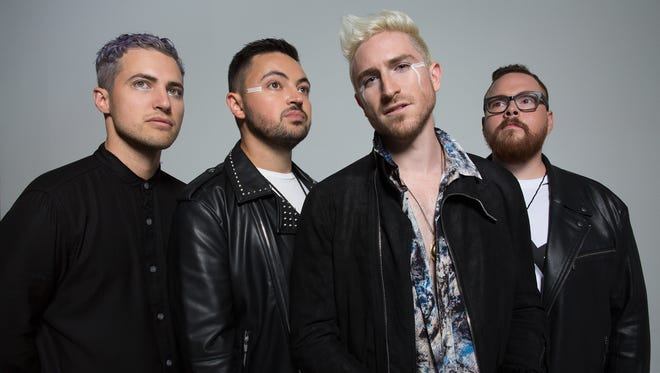 Cincinnati pop-rock band Walk the Moon