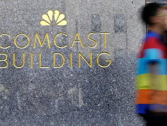 #file Comcast Stock Photo