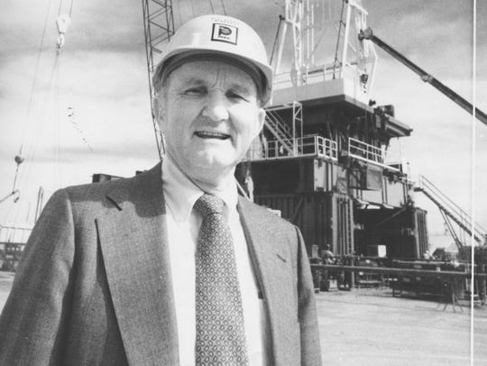 Frank Pool left his mark on San Angelo and the oil