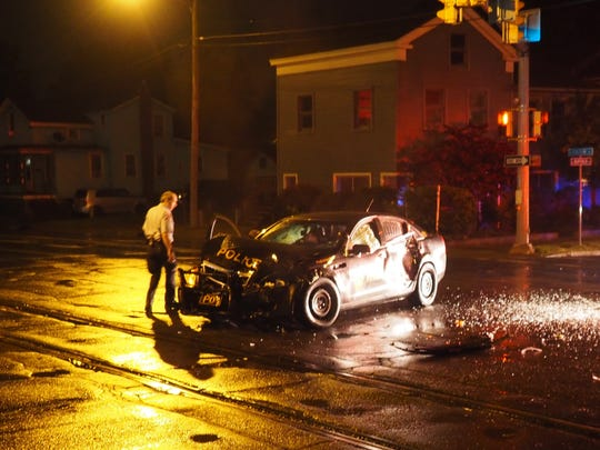 A head-on crash Monday night in Ithaca was caused by