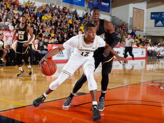 NCAA Basketball: Maui Invitational-VCU at Michigan