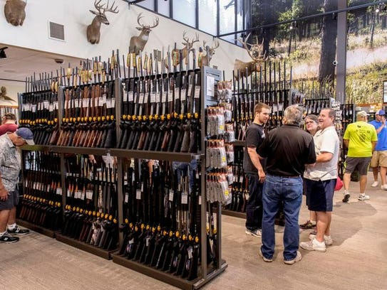 Brownells held a grand opening of its first ever retail