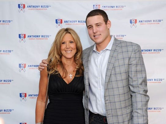 Laurie Rizzo, with son, Anthony Rizzo Chicago, IL Provided