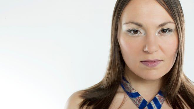 Inuit throat singer Tanya Tagaq visits FlynnSpace in Burlington on Saturday.