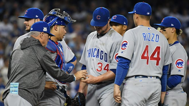 Managers like Joe Maddon and teammates of pitchers will be limited to six mound visits without penalty of removing the pitcher, MLB announced Monday.
