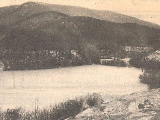 Crimora Mines lake