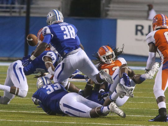 The MTSU defense is allowing only 290 yards per game through two games this season, but it will face a Western Kentucky offense that averages more than 550 yards per game on Saturday.
