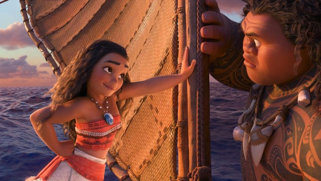 Tenacious teenager Moana (Auliʻi Cravalho) recruits a demigod named Maui (Dwayne Johnson) to help her become a master wayfinder and sail out on a daring mission to save her people.