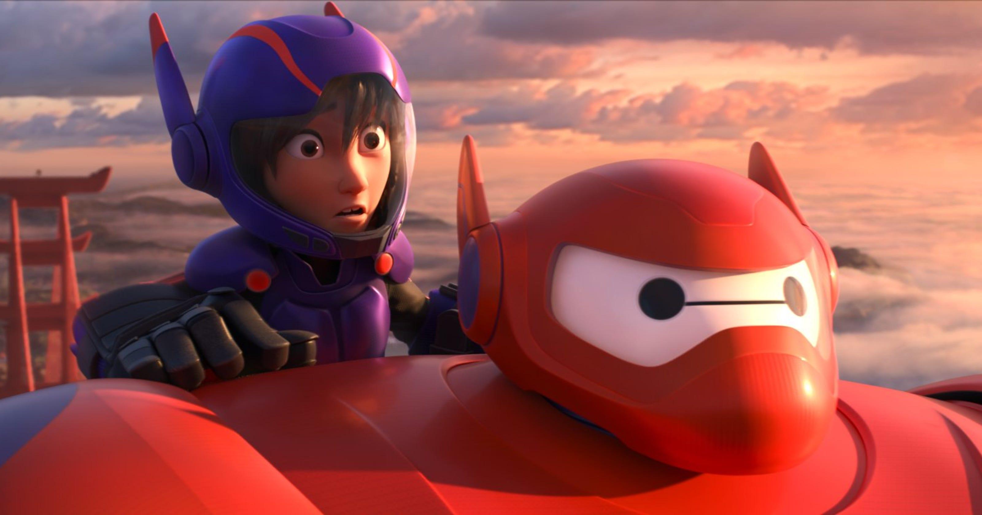 Review Disney Has Animated Winner With Big Hero 6