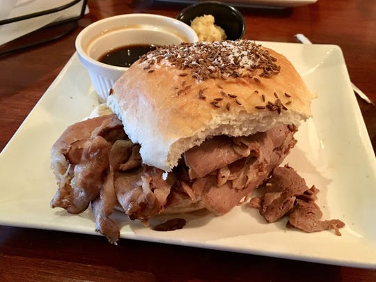 The beef on weck from University Grill in south Fort