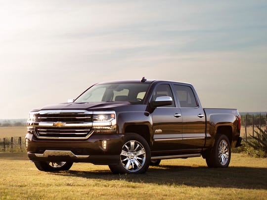 This photo provided by General Motors shows the 2017