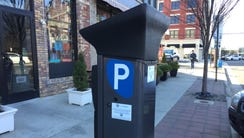 One of the new parking meters under consideration by