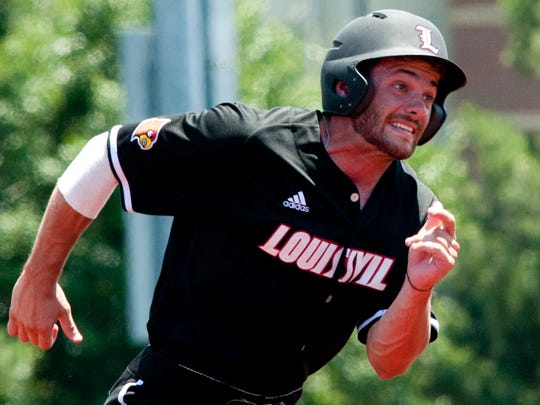 U of L's Logan Taylor hit .271 with 42 RBI and 22 stolen bases in 61 games during his senior season in 2017.