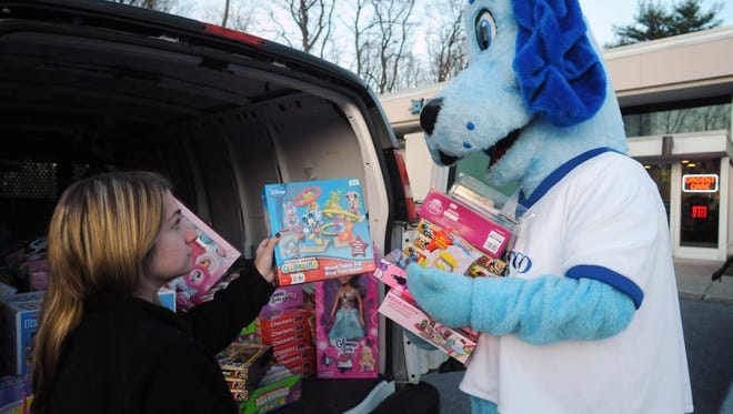 How will you give to others this season? Maybe a toy drive like this one is an option.