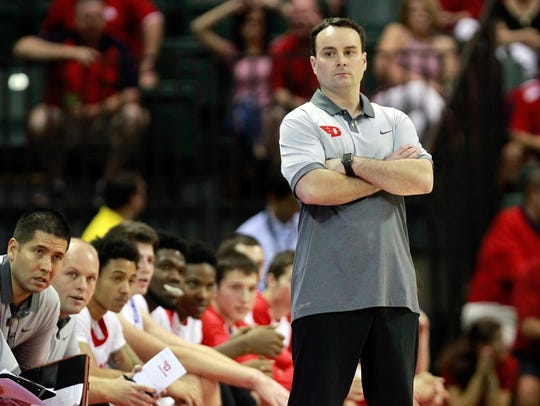Archie Miller guided Dayton to four consecutive NCAA
