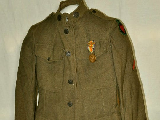 Jacket of Clarence C. Helvig of Story County who served