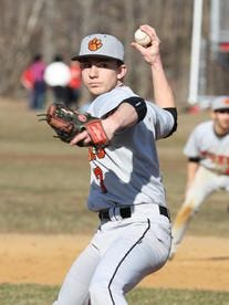 White Plains HIgh School baseball player