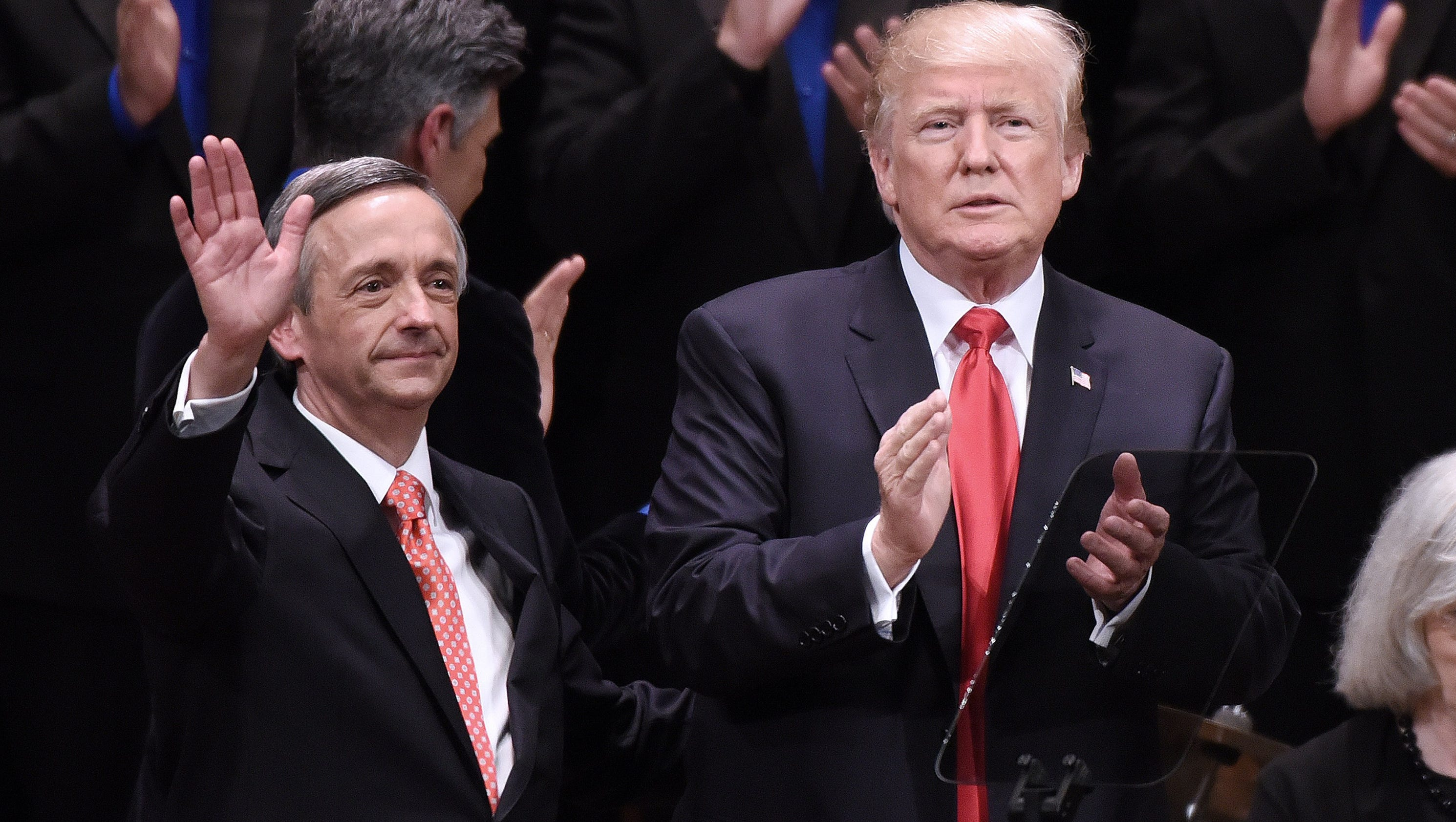 Trump's evangelical adviser: God's OK with U.S. bombing North Korea