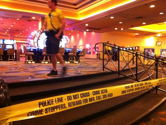 One dead 2 wounded in vegas casino shooting