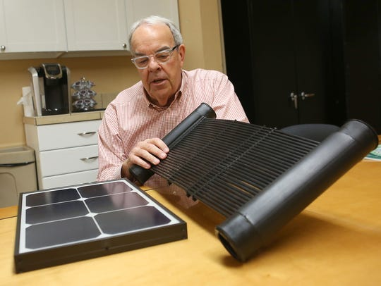 Dave Mourhess, who manages Revco Solar's Palm Desert