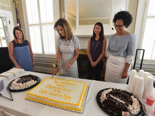Mary Alice Rountree's retirement reception for 20 years