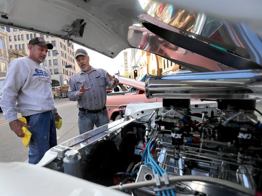 License to Cruise, an annual car show in downtown Appleton, will take place again this year from 6 to 9:30 p.m. Friday.