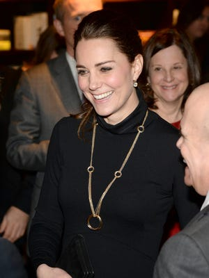 Kate attends the Creativity is GREAT reception at NeueHouse in New York.
