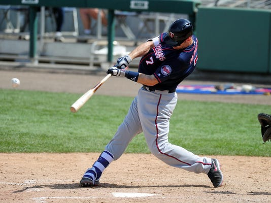 MLB: Spring Training-Minnesota Twins at Boston Red Sox