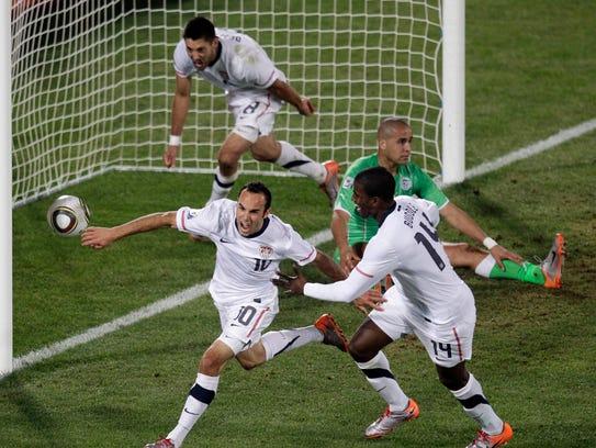 2010 World Cup - Landon Donovan's stoppage time goal