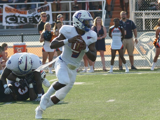 Tennessee State quarterback Treon Harris was replaced