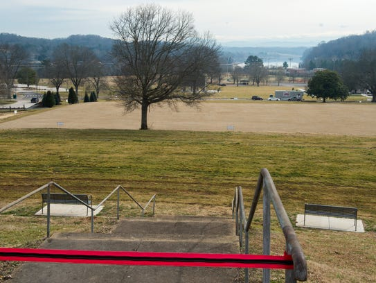 The view from where a new scenic overlook will be constructed