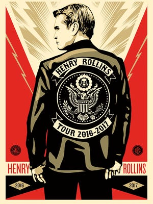 Henry Rollins is coming to Springfield in November.