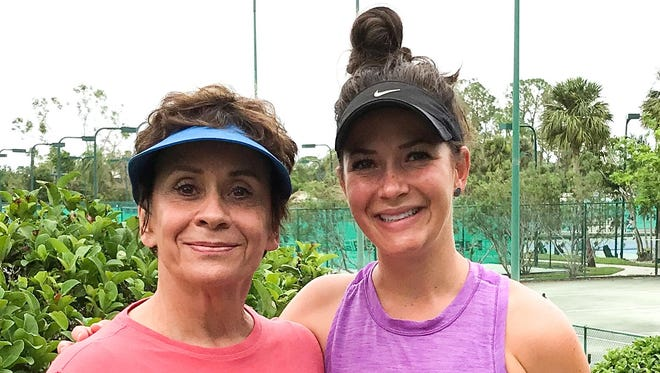 Dr. Marsha Bornt-Davis, left, and her daughter, Lisa Bornt-Davis, have won two national mother-daughter titles this year.