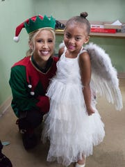 Savannah and Chloe Chrisley from the episode of USA Network reality show 'Chrisley Knows Best' that aired Dec. 19 last year, about the Chrisleys producing a Nativity play.