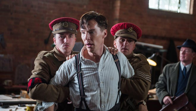 """Benedict Cumberbatch stars as WWII code breaker Alan Turing in """"The Imitation Game."""" A handwritten notebook by Turing is about to go on the auction block."""