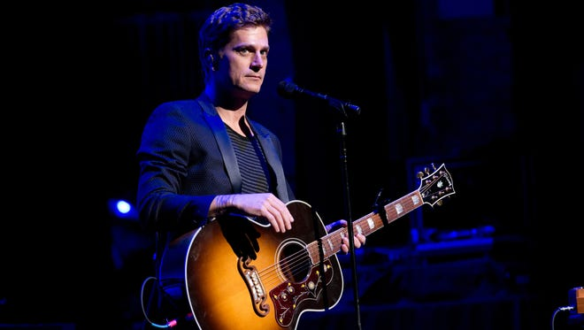 """Rob Thomas, shown here performing during December's """"Home For The Holidays"""" Benefit Concert at Beacon Theatre in New York City, has just released a new solo single, """"Trust You."""""""
