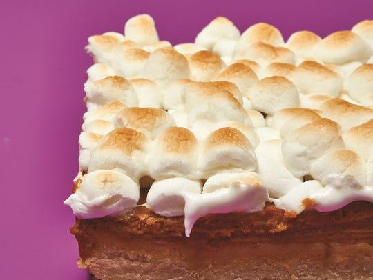 "Sweet Potato Pie Bars from ""Dorie's Cookies"" (Houghton"