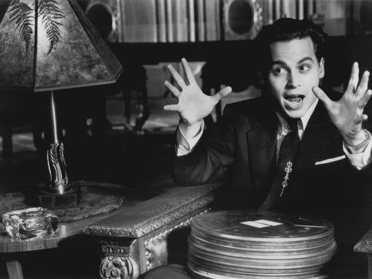 Johnny Depp as Ed Wood art
