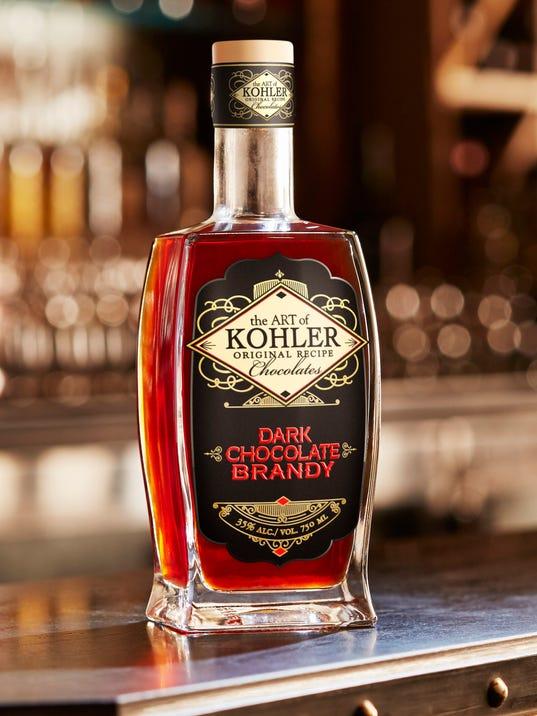 Make Dessert With Kohler Chocolate Brandy