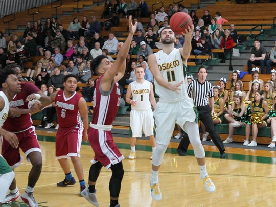 Fairport graduate Brian Sortino, named the SUNYAC Player of the Year this week, is averaging 20.9 points, 3.3 assists and just 1.7 turnovers.