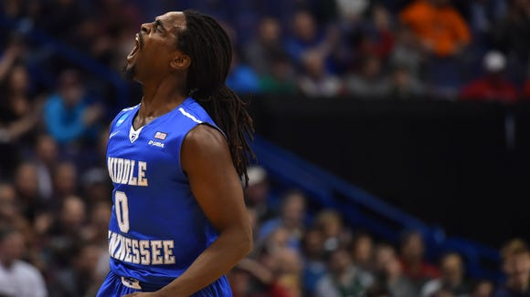 Middle Tennessee State Blue Raiders forward Darnell