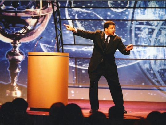 Neil deGrasse Tyson has two shows scheduled for the New Jersey Performing Arts Center.