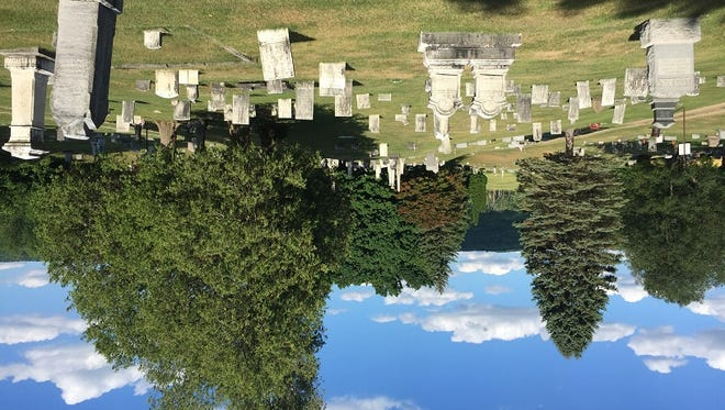 Union Cemetery near Conesus in Livingston County, final resting place of a key figure in U.S. history.
