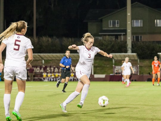 Megan Connolly contributed a goal and two assists during FSU's 3-1 win over Clemson on Thursday.