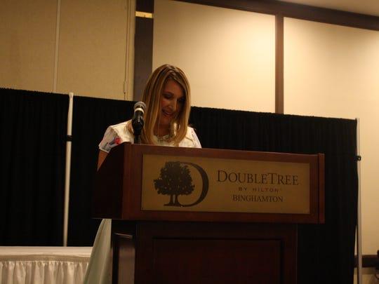 Heather Higginbottom, an alumnus of Chenango Valley
