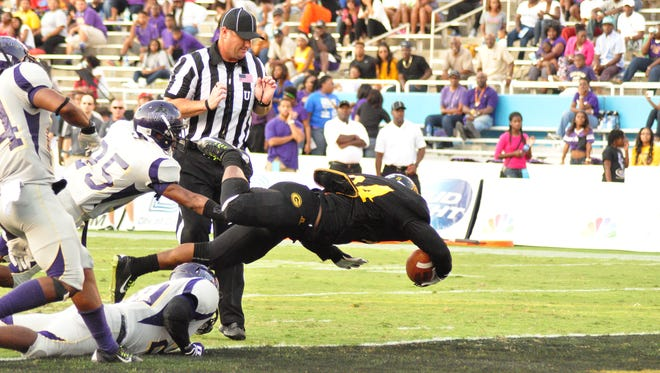 Grambling squeaked out a 26-20 win over Prairie View A&M in last year's State Fair Classic in Dallas.