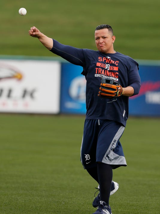 Fit Miguel Cabrera Surprises Detroit Tigers With Arrival Feels Good