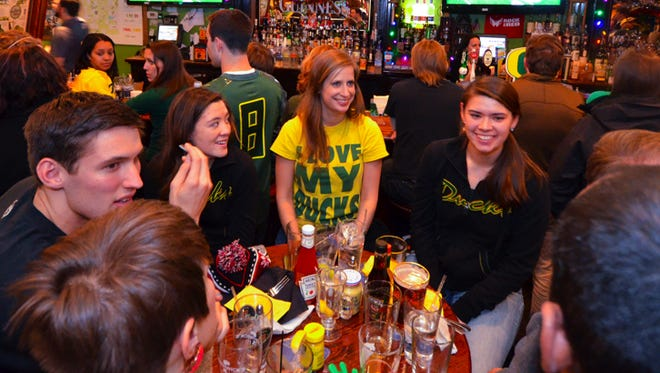 The Irish Channel in downtown Washington, D.C., has become a hangout for Oregon Duck fans. The DC Ducks, a chapter of the University of Oregon Alumni Association, holds watch parties at the pub.