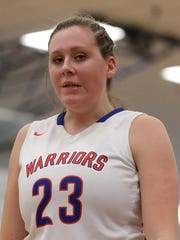 Mackenzie Blazek averaged a double-double each of her